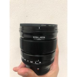フジフイルム(富士フイルム)の富士フィルム XF16mm F1.4 レンズフィルター付き(レンズ(単焦点))