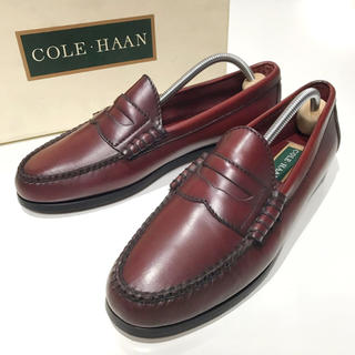 コールハーン(Cole Haan)の新品【COLE HAAN】25.5cm コインローファー ペニー ビジネス 革靴(ローファー/革靴)