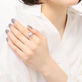 エテ(ete)のJouete ムーンストーンフォークリング 13号(リング(指輪))