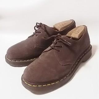 ドクターマーチン(Dr.Martens)の 限定チョコブラウン!ドクターマーチン高級スエード3ホールローファー   (ローファー/革靴)