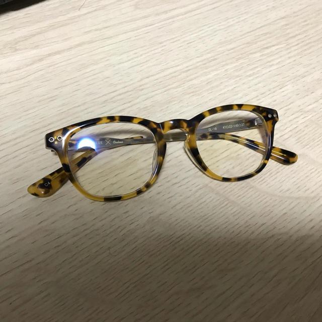 RAGEBLUE(レイジブルー)のブルーライトカットメガネ メンズのファッション小物(サングラス/メガネ)の商品写真