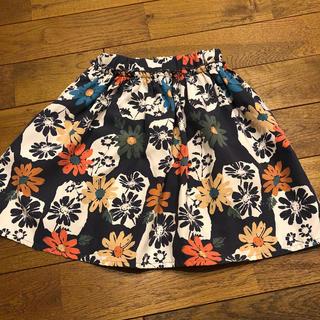 マーキーズ(MARKEY'S)のsale⭐︎花柄スカート キッズ 90 グラニーブランケット(スカート)