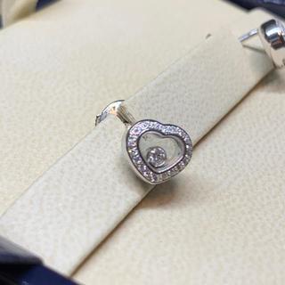ショパール(Chopard)の新品 ショパール WG ホワイトゴールド ハッピーダイヤ ピアス(ピアス)