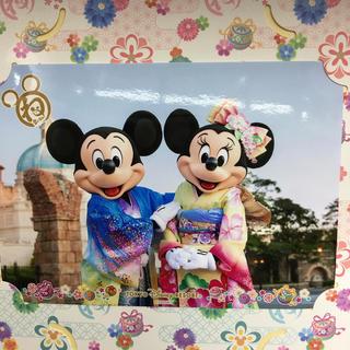 ディズニー(Disney)のディズニー 正月 フォトファン ミキミニ ミッキー ミニー(写真)