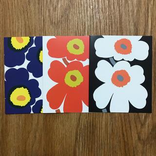 マリメッコ(marimekko)の【マリメッコ】UNIKKO NOTECARDS E(使用済み切手/官製はがき)
