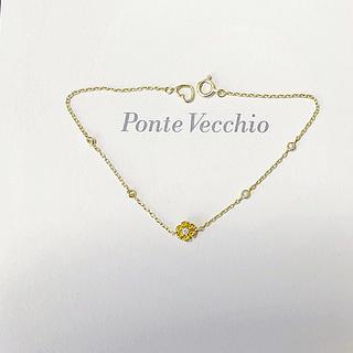 ポンテヴェキオ(PonteVecchio)のクーポンセール バースストーン ブレスレットk18 (ブレスレット/バングル)
