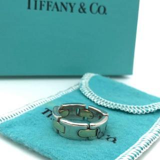 ティファニー(Tiffany & Co.)の希少 美品 ヴィンテージ ティファニー コンビ リング CQ73(リング(指輪))