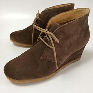 クラークス(Clarks)のクラークス ショートブーツ UK 3 1/2 サイズ 未使用品 小さいサイズ(ブーツ)