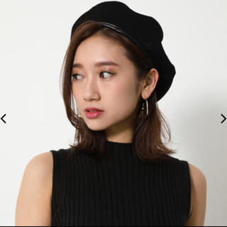 rienda - リバーシブルベレー帽