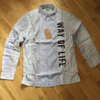 ダブルタップス(W)taps)のダブルタップス  パッチワークシャツ Mサイズ(シャツ)