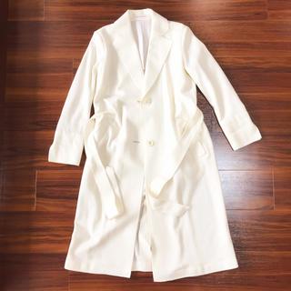 セイブヒャッカテン(西武百貨店)の美品♡ウール100% limited edition ホワイトコート(ロングコート)
