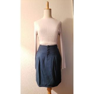 クローラ(CROLLA)のCROLLAクローラモスグリーンコクーンタイトスカート(ミニスカート)