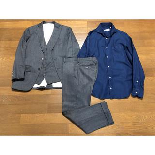 スーツカンパニー(THE SUIT COMPANY)のSUIT COMPANYセット 160 スーツカンパニー ジャケット 3ピース(スーツジャケット)