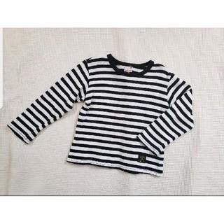 プティマイン(petit main)のプティマイン ボーダー カットソー 秋服 女の子 男の子 ロンT  長袖(Tシャツ/カットソー)