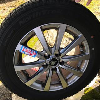 DUNLOP - スタッドレスタイヤ 195/65R15 インチ 4本セット