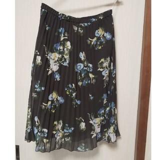 ハナエモリ(HANAE MORI)の森英恵の花柄スカート(ひざ丈スカート)