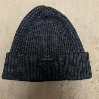 アンダーアーマー(UNDER ARMOUR)のアンダーアーマー ニット帽 グレー(ニット帽/ビーニー)
