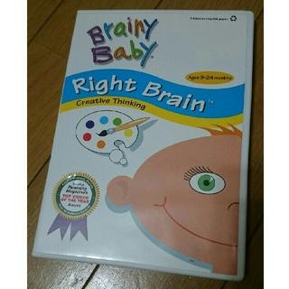 2枚組 知育BrainyBaby  RightBrain  LeftBrain