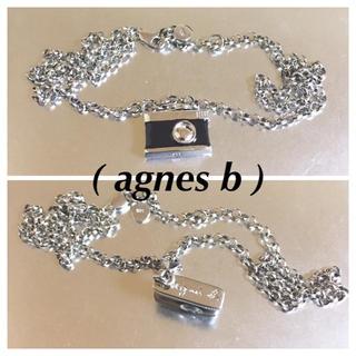 アニエスベー(agnes b.)のアニエス-べー925silverカメラモチーフ ネックレス(ネックレス)