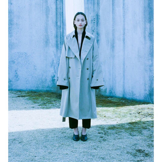 サンシー(SUNSEA)のstein Lay Oversized overflap Coat トレンチ(トレンチコート)