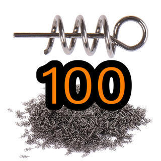 ワームキーパー 100個セット(ルアー用品)