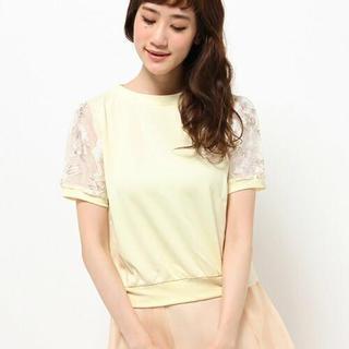 ミスティウーマン(mysty woman)のmysty woman オーガンジー (Tシャツ(半袖/袖なし))