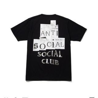シュプリーム(Supreme)のアンチソーシャル tシャツ(Tシャツ/カットソー(半袖/袖なし))