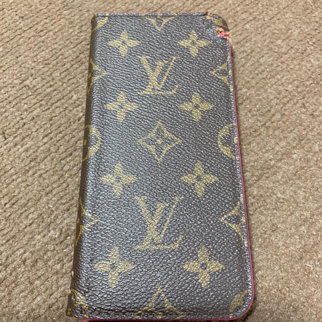 LOUIS VUITTON - 訳あり Louis Vuitton iPhone 7 plusケースの通販