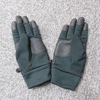 ユニクロ(UNIQLO)のメンズ/手袋/UNIQLO/sizeL/黒(手袋)