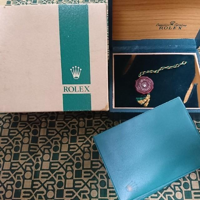 パネライ ケース | ROLEX - ROLEX ロレックス シードゥエラー 1665 箱 タグ ケース ボックスの通販 by にゃも's shop