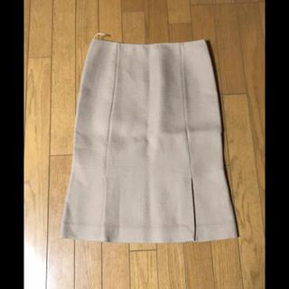 プラダ(PRADA)の最終お値下げ❗️プラダ PRADA スカート  ベージュ(ひざ丈スカート)