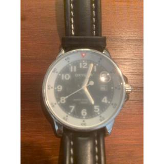 オキシゲン(OXYGEN)の腕時計Oxygen オキシゲン100m防水 ガラス板若干曇りあり(腕時計(アナログ))