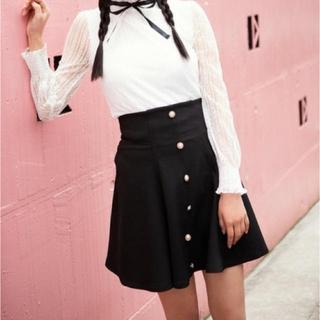 グレイル(GRL)のグレイル パール スカート(ミニスカート)