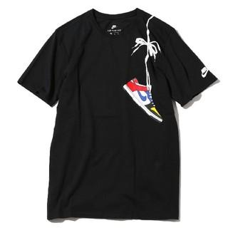 ナイキ(NIKE)のAtmos NIKE DUNK Tシャツ what the ブラック(Tシャツ/カットソー(半袖/袖なし))