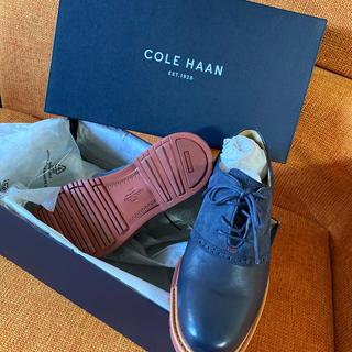 コールハーン(Cole Haan)の新品未使用コールハーン★革靴 サイズ7★メンズ25cm相当(ドレス/ビジネス)