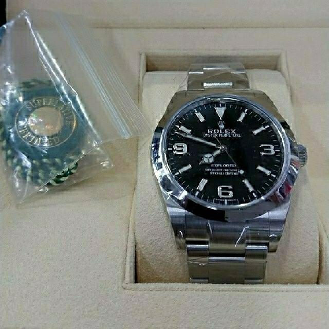 ROLEX - 完全未使用品 Rolex ロレックス エクスプローラー1 214270の通販 by boxsetcom's shop