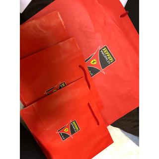 フェラーリ(Ferrari)のフェラーリワールド ショッパー 4枚(ショップ袋)