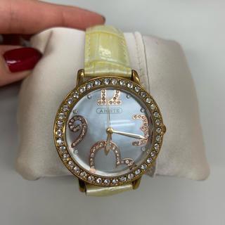 アビステ(ABISTE)のABISTE アビステ  ラウンドフェイス腕時計(腕時計)