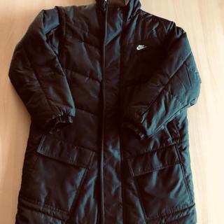 ナイキ(NIKE)のNIKEナイキ中綿黒ベンチコート真冬ロングジャケット140(その他)