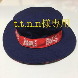 ロデオクラウンズ(RODEO CROWNS)のロデオクラウンズ ハット バケット 帽子 未使用 ネイビー (ハット)