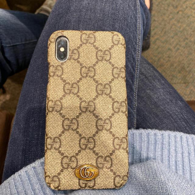 Gucci - GUCCIケース iPhone xの通販