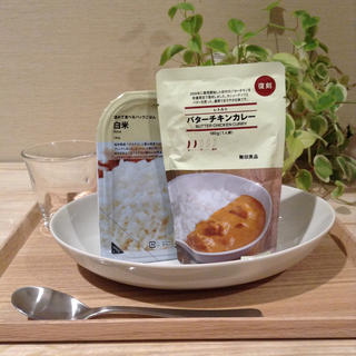 ムジルシリョウヒン(MUJI (無印良品))の復刻 バターチキンカレー 無印良品(レトルト食品)