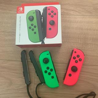 ニンテンドースイッチ(Nintendo Switch)のaki様専用  switch コントローラー Joy-Con 緑/ピンク(家庭用ゲーム機本体)