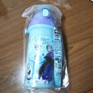 アナトユキノジョオウ(アナと雪の女王)の食洗機対応直飲みワンタッチボトル アナと雪の女王(水筒)