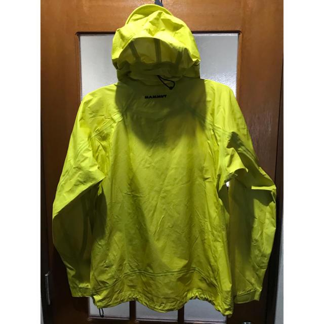 Mammut(マムート)のmammutパーカー メンズのジャケット/アウター(マウンテンパーカー)の商品写真