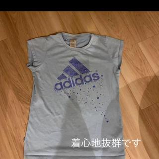アディダス(adidas)のadidas アディダスTシャツ ブルー系(Tシャツ(半袖/袖なし))
