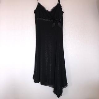 セシルマクビー(CECIL McBEE)の黒ドレス パーティー (ミニドレス)