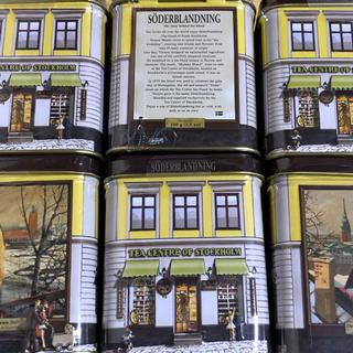 北欧紅茶 セーデルブレンドティー 100g × 2缶セット(茶)