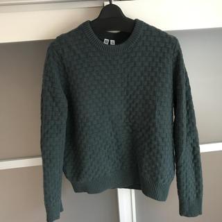 ユニクロ(UNIQLO)のユニクロU  ラムクルーネック セーター(ニット/セーター)