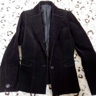 オフオン(OFUON)のfinal sale⚡ofuon black corduroy jacket(テーラードジャケット)